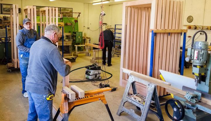 Timber Bi-Folds Workshop